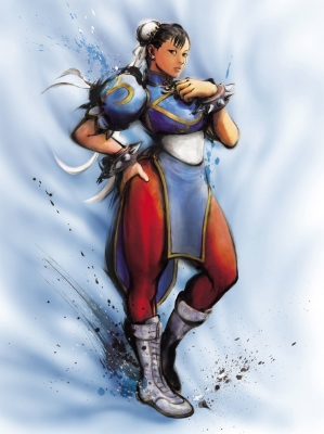 Also, the real world doesn't have my teenage love, Chun-Li
