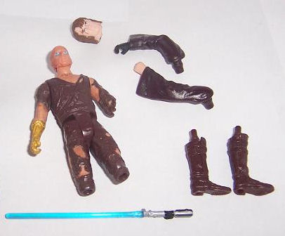 Anakin Skywalker, worst Jedi but most hilarious action figure of all time