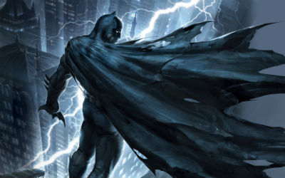 Batman can resolve anything up to and including Kryptonian attack (Source: DC)