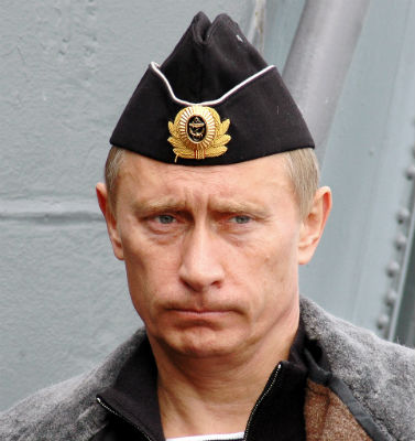 Putin disapproves of jokes about his glans-hat