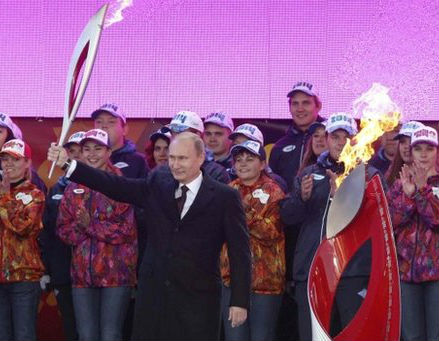 """Must Olympic torch be flaming? Can it not be burning with Soviet heterosexual lust?"""