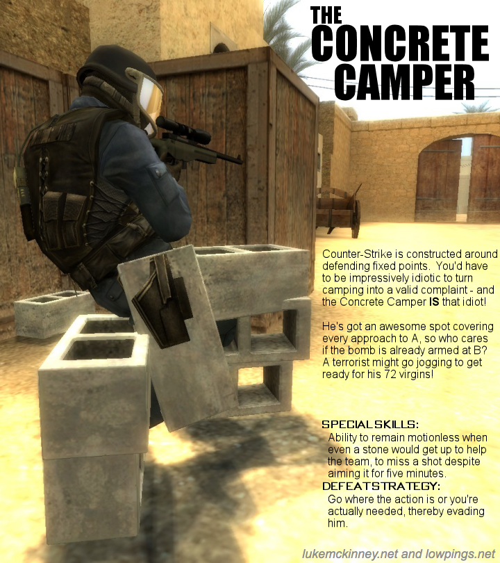 the real online shooter classes luke writes what you read