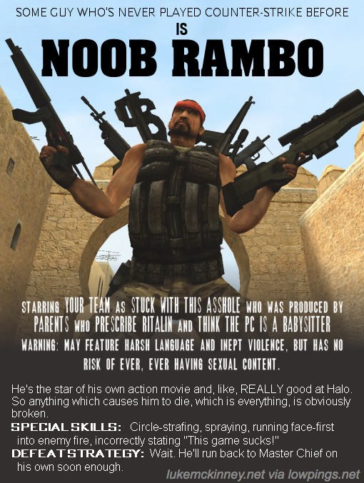 noob rambo name