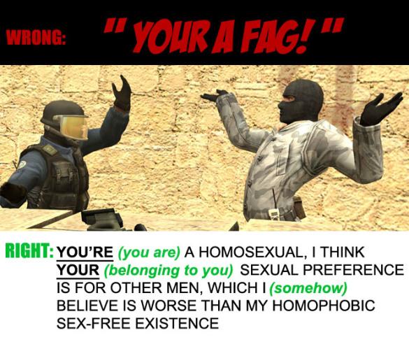 your-a-fag